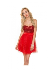 Rochie Red Attraction